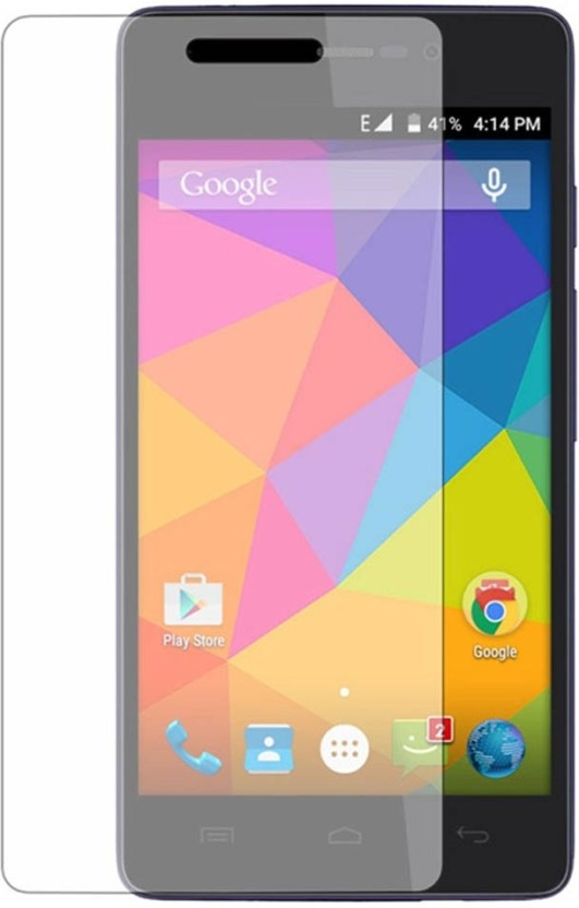 Friend Mild Tempered Glass Guard for Micromax Canvas Fire Q386
