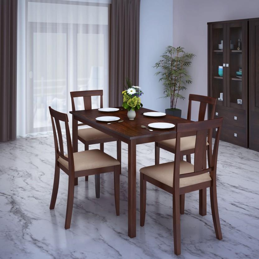 Perfect Homes by Flipkart Fraser 4 Seater Dining Set