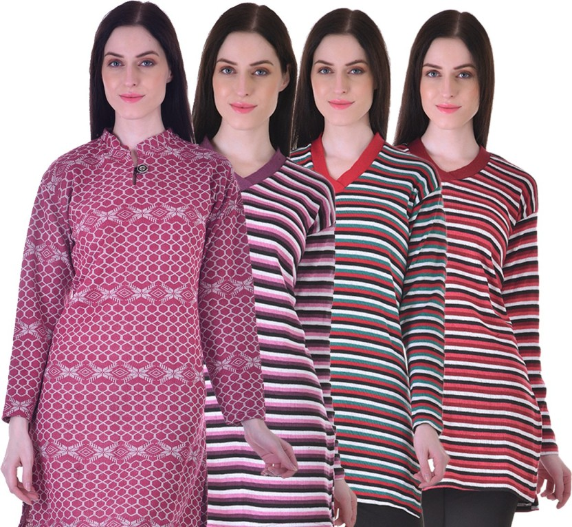 Rochel-Indian Casual Printed, Striped Women