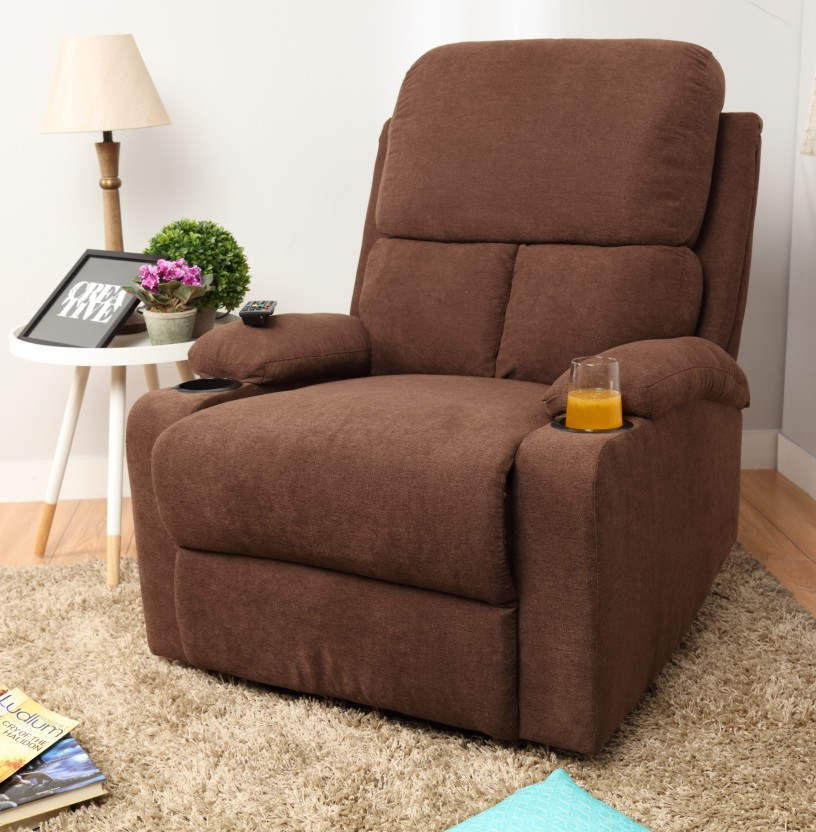 @home by Nilkamal Fabric Manual Recliners