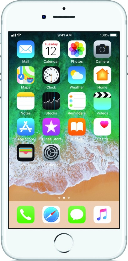 Apple iPhone 7 (Silver, 32 GB)