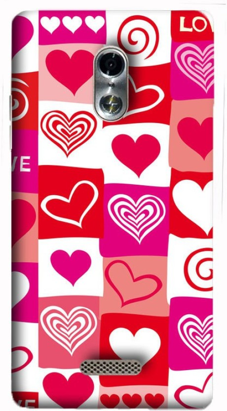 Treecase Back Cover for Itel it1520