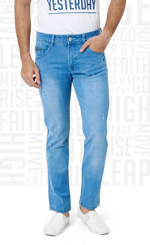 Metronaut Slim Men Light Blue Jeans