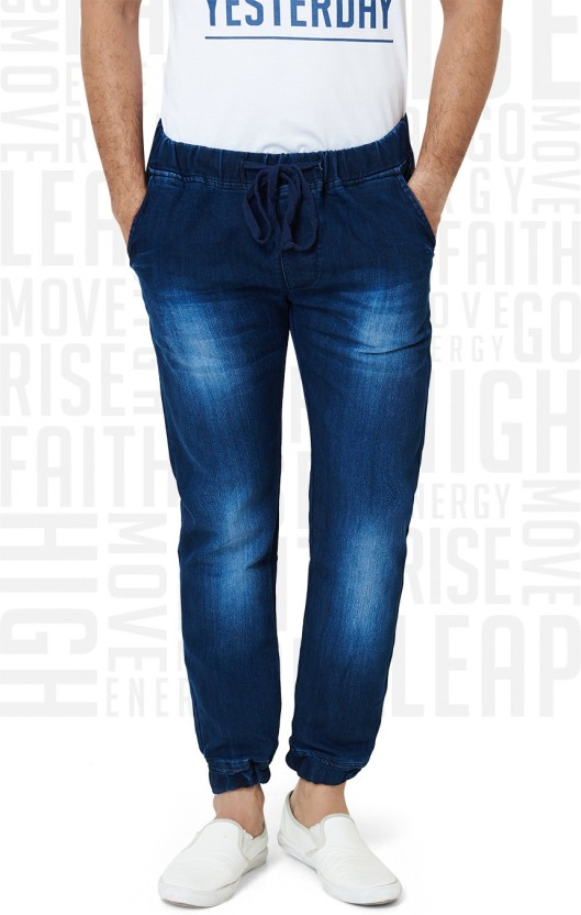 Metronaut Slim Men Dark Blue Jeans