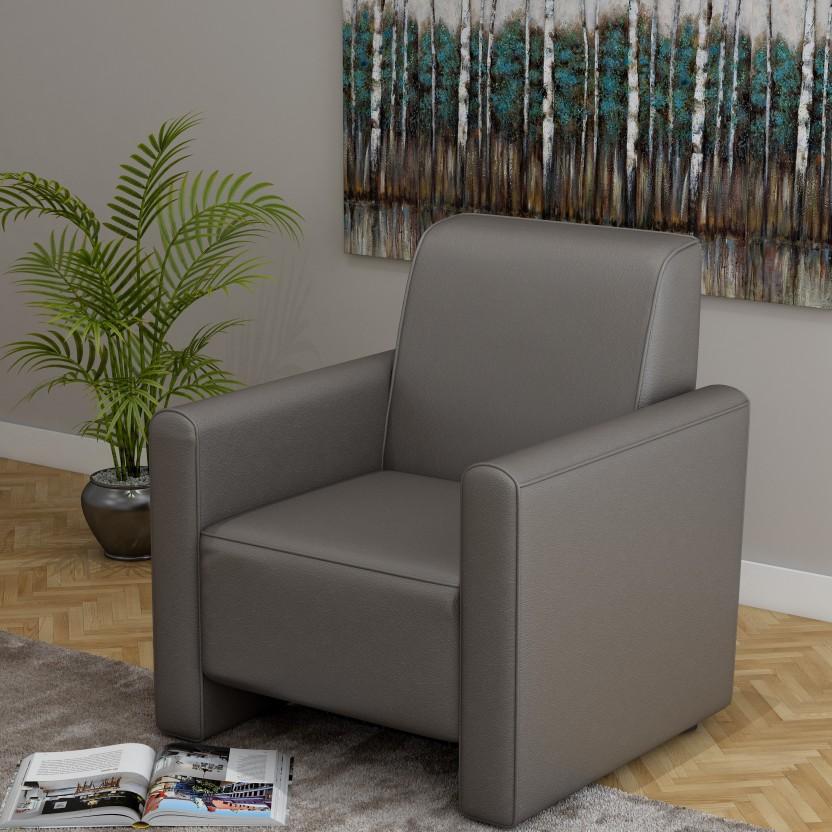 Kurlon Bullet Leatherette 1 Seater Sofa