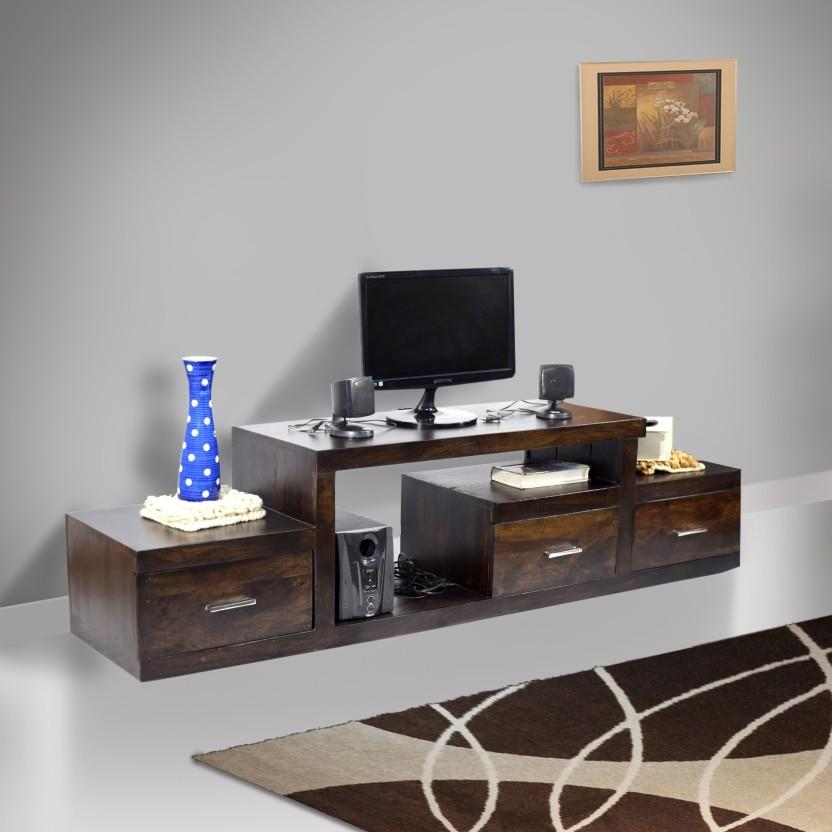 TimberTaste SAROJ Solid Wood TV Entertainment Unit