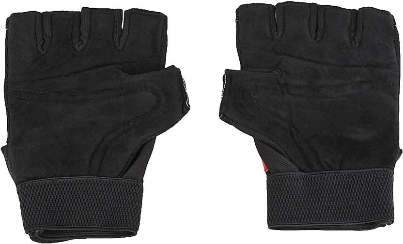 Richard Academy Gym & Fitness Gloves (Men, Red, Black)