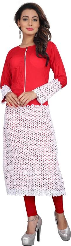 Kuber Enterprise Casual Embroidered Women Kurti