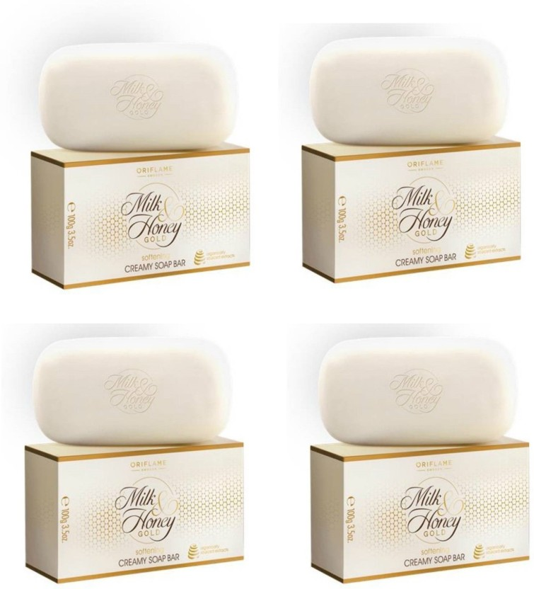 Oriflame Milk & honey Soap(pack of 4)