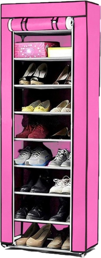 ShopyBucket Stainless Steel Collapsible Shoe Stand