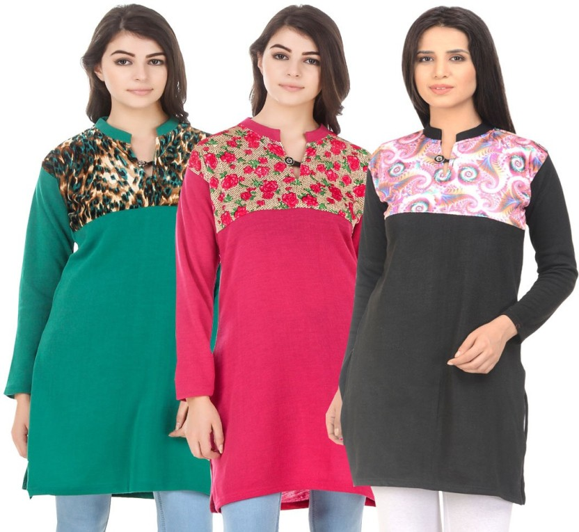 KRITIKA WORLD Casual Printed Women