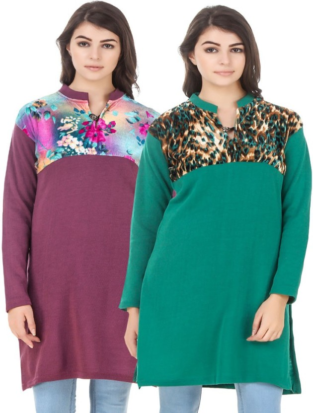 KRITIKA WORLD Casual Floral Print Women