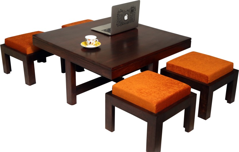 The Jaipur Living Solid Wood Coffee Table