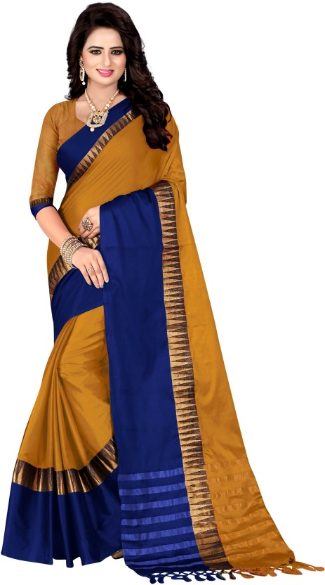 Bombey Velvat Fab Printed, Self Design, Applique, Embellished, Solid, Woven, Checkered, Striped Daily Wear Cotton Silk, Art Silk, Silk, Jacquard Saree