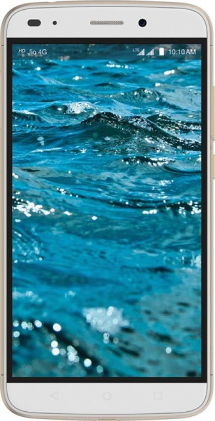 LYF Water 9 (White & Gold, 16 GB)
