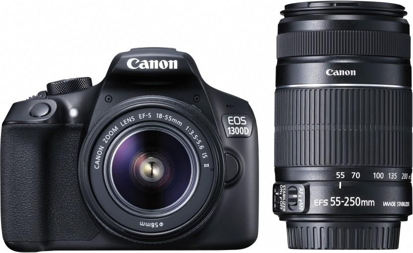 Nikon D3400 DSLR Camera Body with Dual Lens: AF-P DX NIKKOR 18-55 mm f/3.5 - 5.6G VR + AF-P DX NIKKOR 70-300 mm f/4.5 - 6.3G ED VR (16 GB SD Card + Camera Bag)