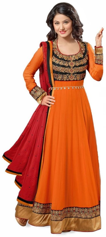 Reya Georgette Embroidered Salwar Suit Dupatta Material