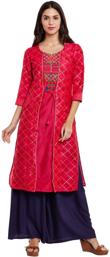 Rangmanch by Pantaloons Printed Women Straight Kurta