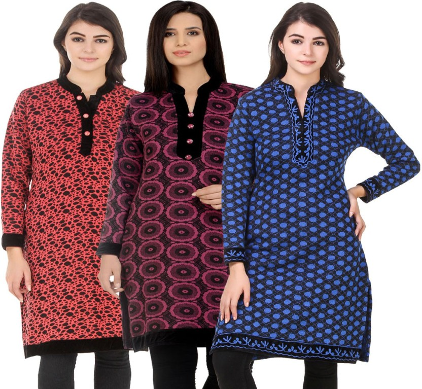 KRITIKA WORLD Festive & Party Embroidered Women