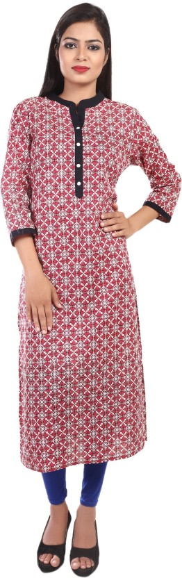 Drapes Casual Floral Print, Printed Women