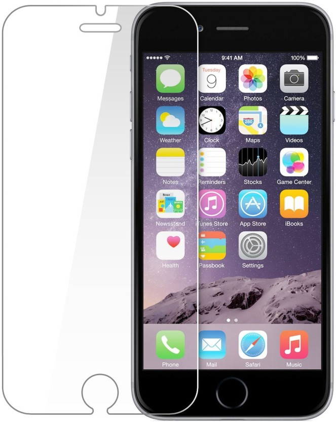 Phone Care Tempered Glass Guard for Apple iPhone 6S Plus, Apple iPhone 6 Plus