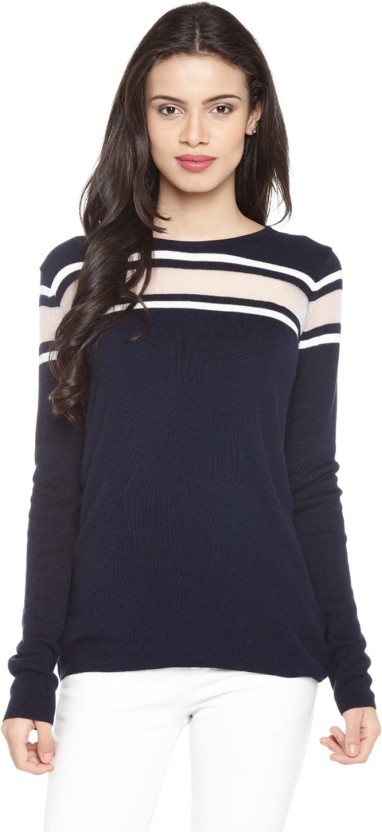 Annabelle by Pantaloons Casual Full Sleeve Striped Women