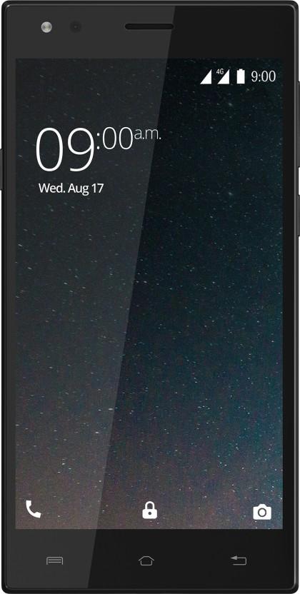 XOLO ERA 3 with 8 MP Selfie Camera (Slate Black,8GB)