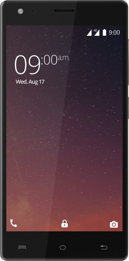 Xolo ERA 3X (Posh Black, 16 GB)
