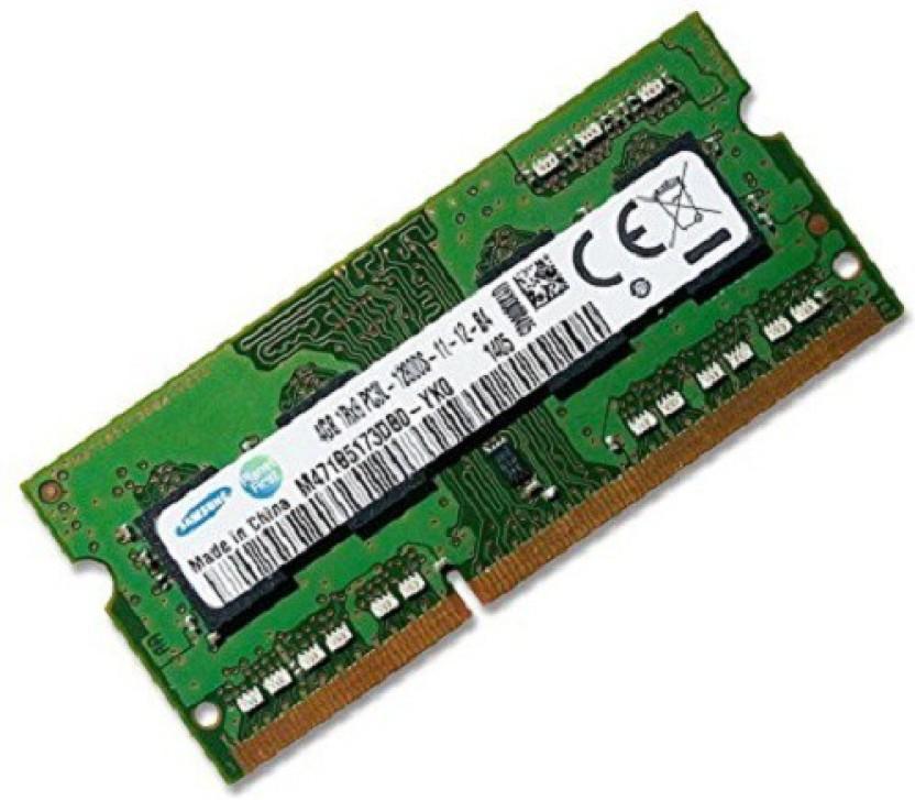 Samsung 12800s DDR3 4 GB (Single Channel) Laptop 4gb ddr3 (12800s)