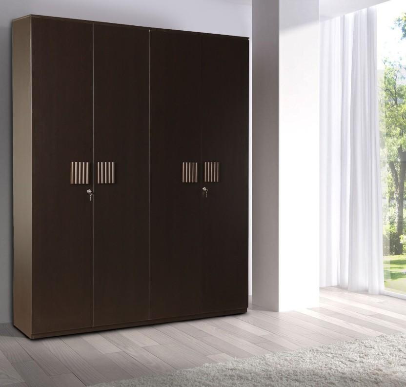 HomeTown Tiago Engineered Wood 4 Door Wardrobe