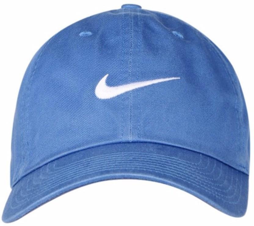 Nike Solid Blue Unisex H86 SWOOSH CLASSIC Cap