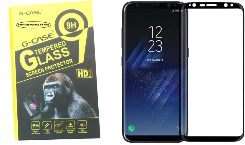 G-case Tempered Glass Guard for Samsung Galaxy S8 Plus