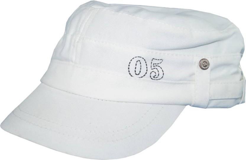Sapiens Solid White Classic golf style Cap