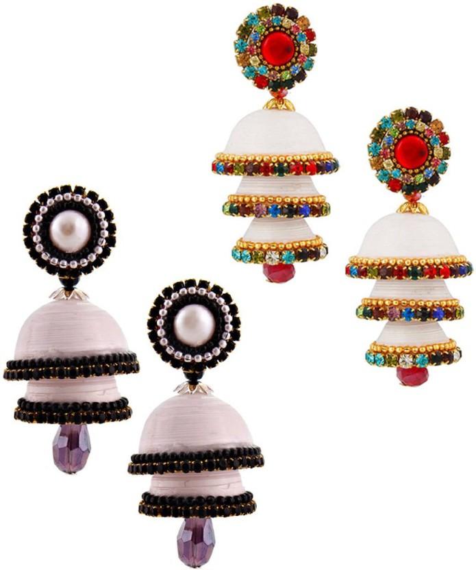 Indian Handicrafts Export Handcrafted Alloy Jhumki Earring
