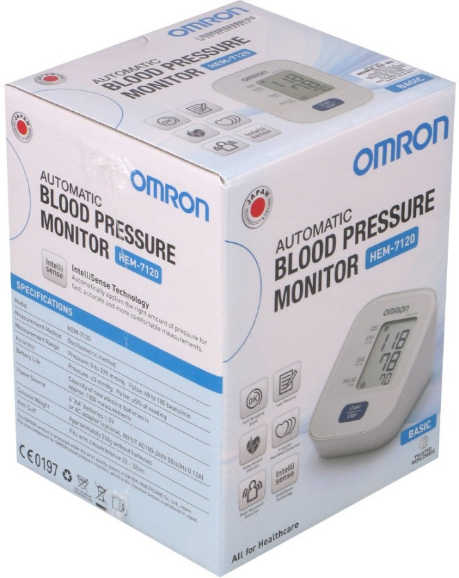OMRON HEM-7120 (5 Years Warranty) Bp Monitor