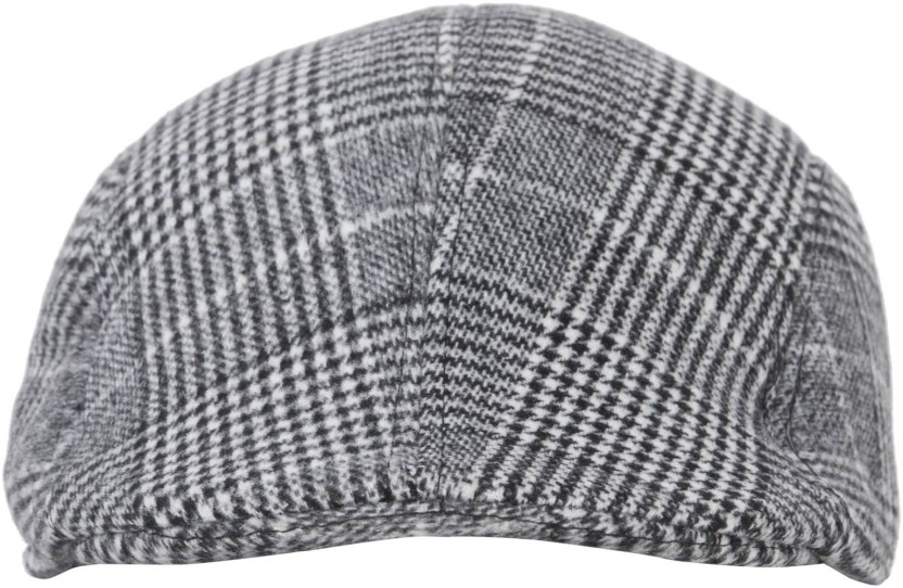 FabSeasons Checkered Checkered Golf Flat Cap Cap