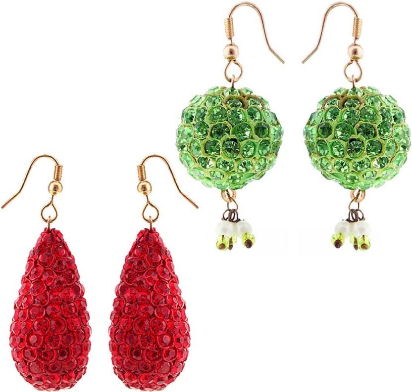 Indian Handicrafts Export Handcrafted Alloy Drop Earring