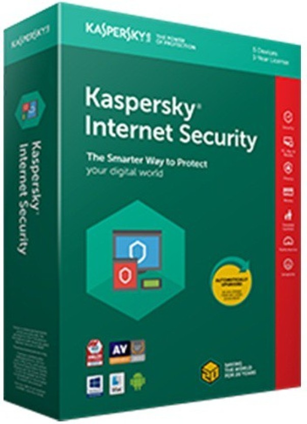 KASPERSKY Internet Security New Pack 3 Pc 1Year 2018(Upgradable Edition) (3cd,3key )