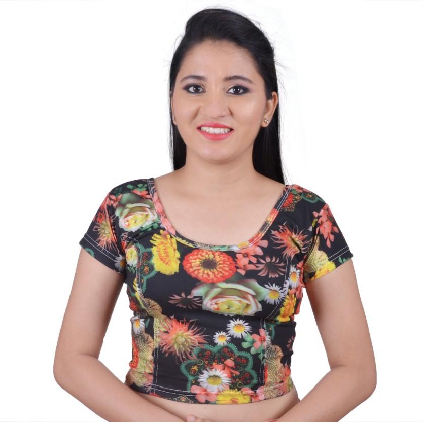 Biyu U-Neck Women Stitched Blouse
