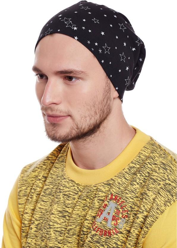 Vimal Printed Beanie Cap Cap