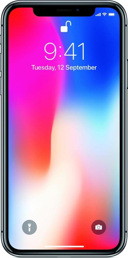 Apple iPhone X (Space Gray, 256 GB)