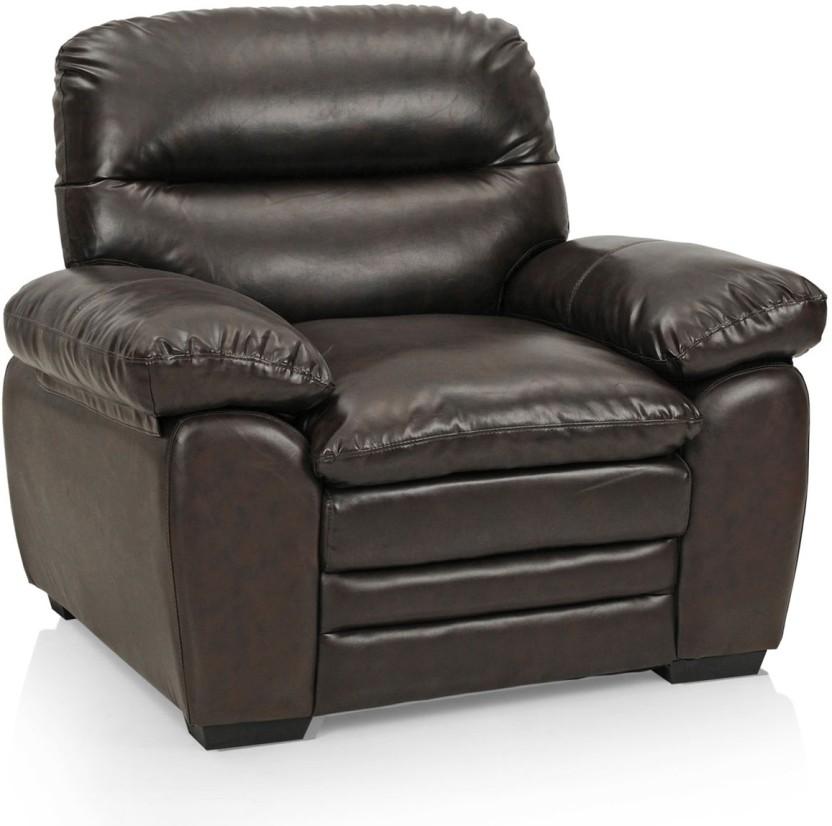 Royal Oak Brio Leatherette 1 Seater Sofa