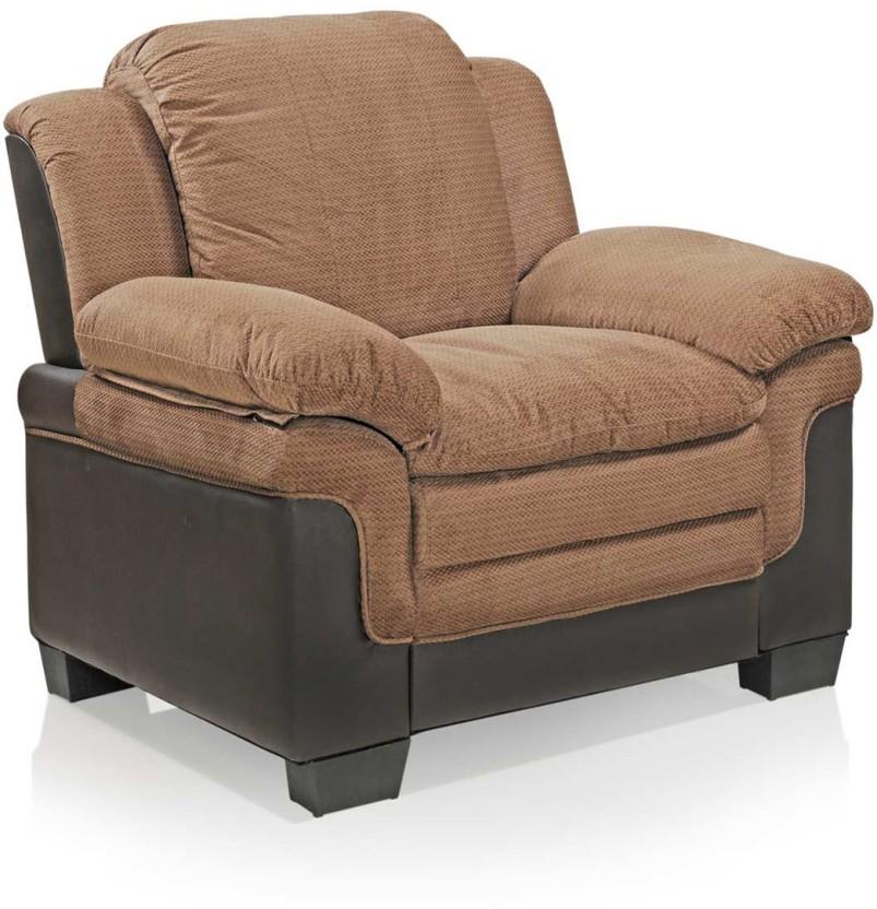 Royal Oak Fabric 1 Seater Sofa