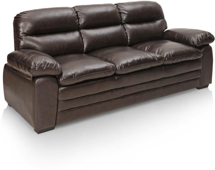 Royal Oak Brio Leatherette 3 Seater Sofa