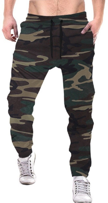 Tripr Printed Men Multicolor Track Pants