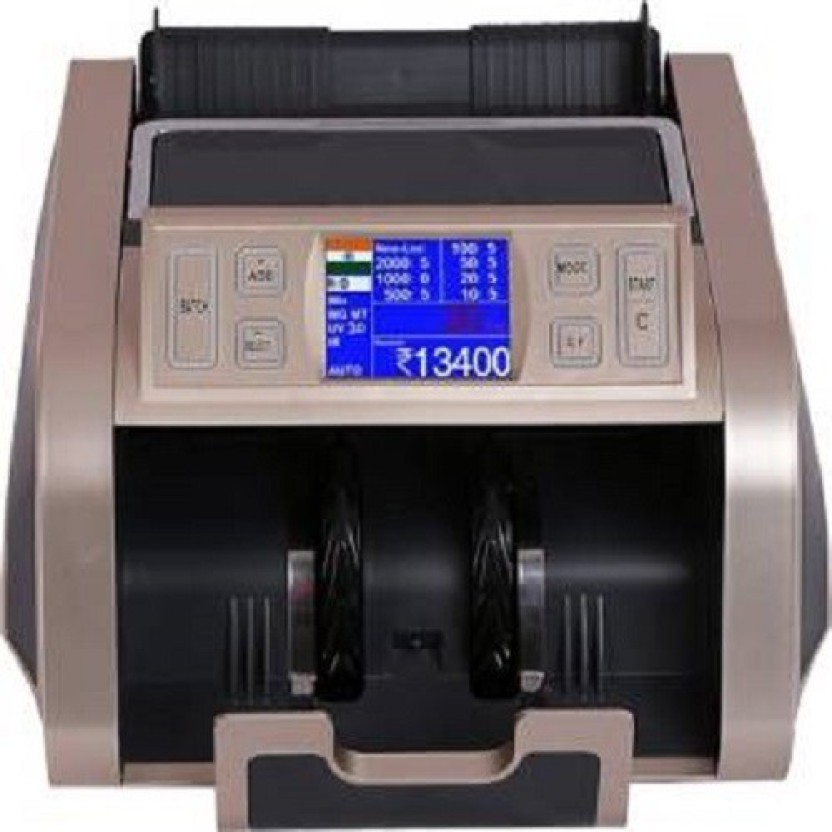 swaggers sw fake note counting machine LCD with Fake Note Detection Note Counting Machine 1210 Note Counting Machine