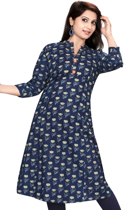 Meher Impex Printed Women Flared Kurta