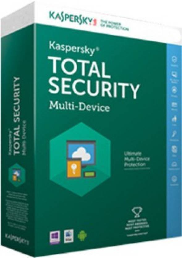 KASPERSKY Kaspersky Total Security - 3 PC, 1 Year (CD) Latest Version [DVD-ROM]