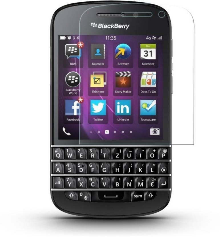 EASYBIZZ Tempered Glass Guard for Blackberry Q10