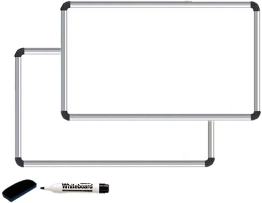 Kohinoor Non Magnetic Melamine Board Whiteboards and Duster Combos